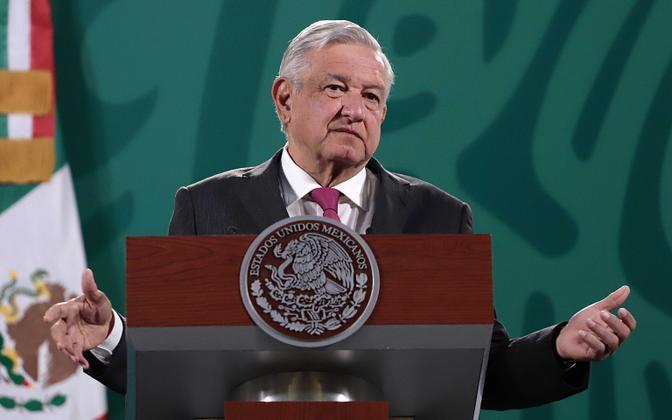 Kaalulangus taganeb Mehhiko