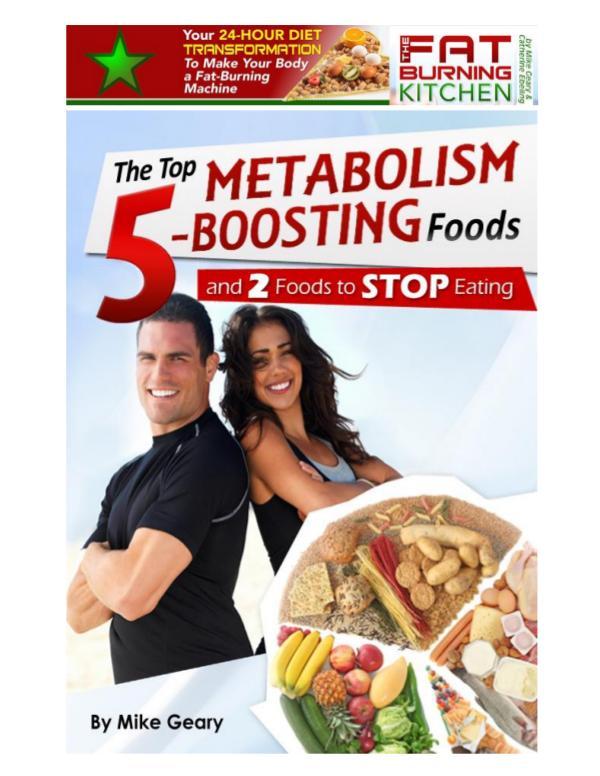 Fat Burner Food PDF