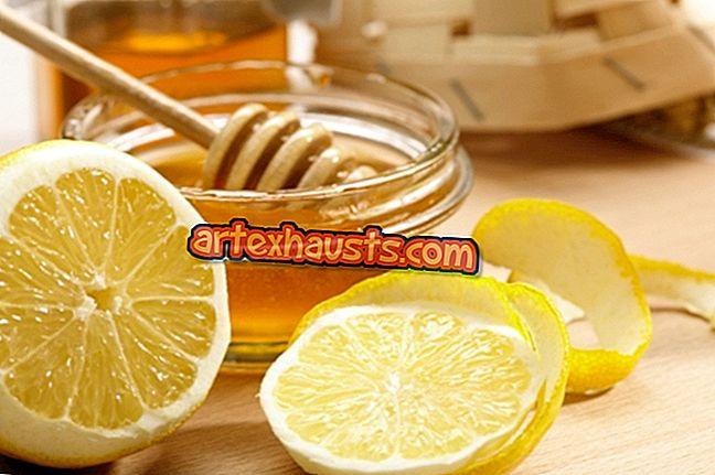 Kaalulangus sooja veega mesi sidruniga Monster Fat Burner