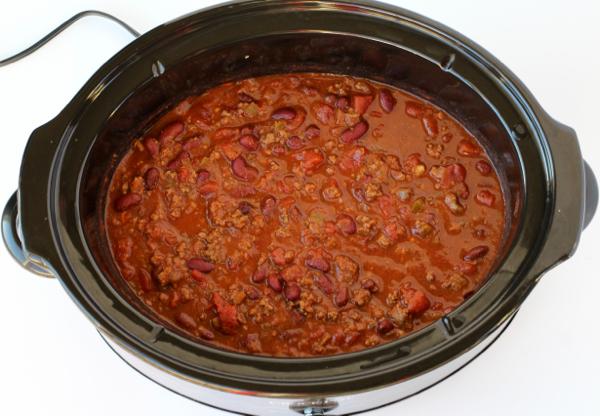 Kaalulangus Crock Pot Chili