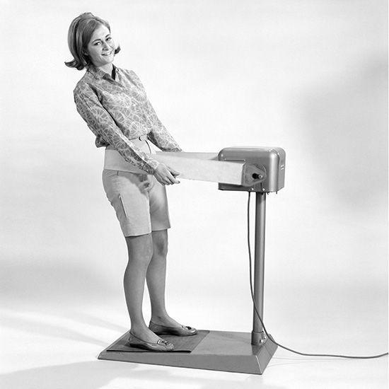 Vintage Slimming Machine poleb, kui ma piss ja kaalulangus