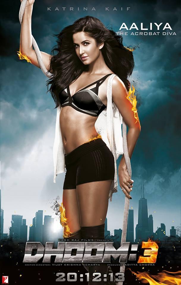 Katrina Kaif Kaalulangus Dhoom 3