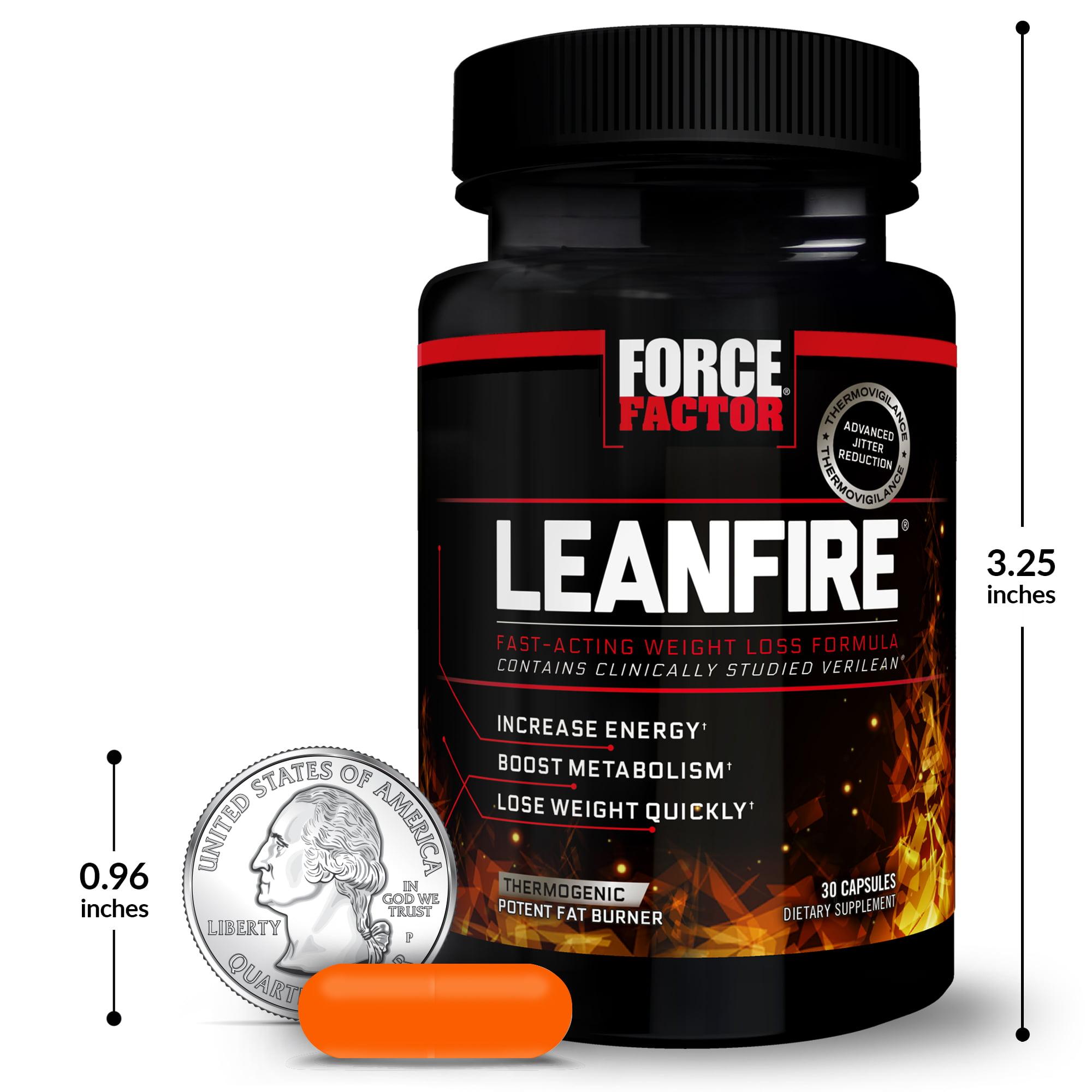 Leanfire Fat Burner Tervislik kaalulangus 6 nadala jooksul