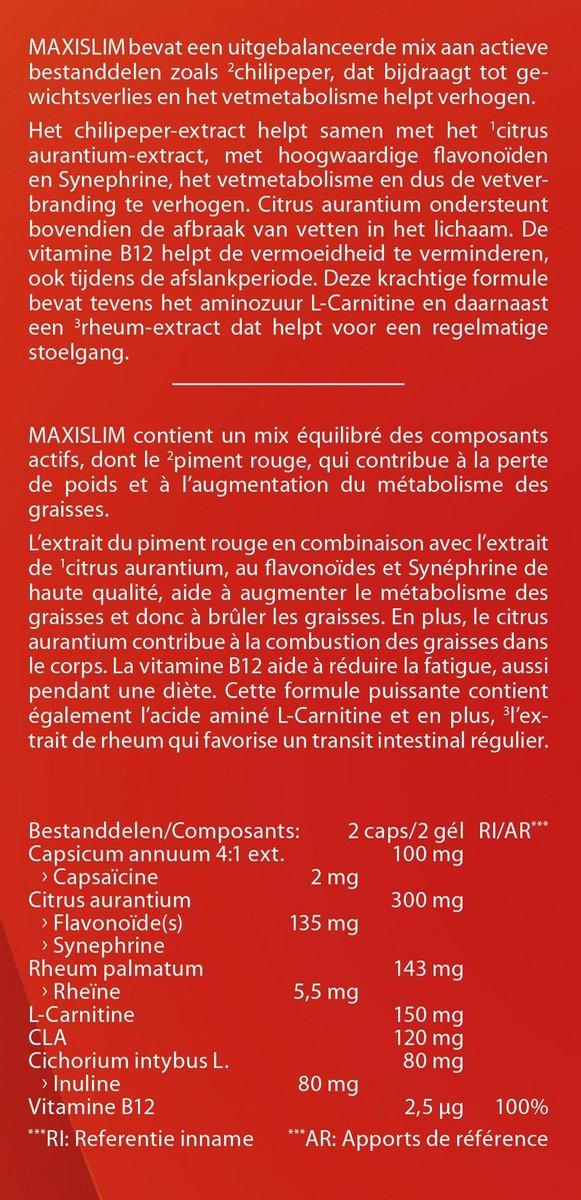 Chiline Maxi Slim Fat Burner Avis