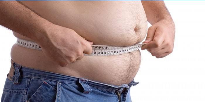 Eemalda vistseraalse rasva