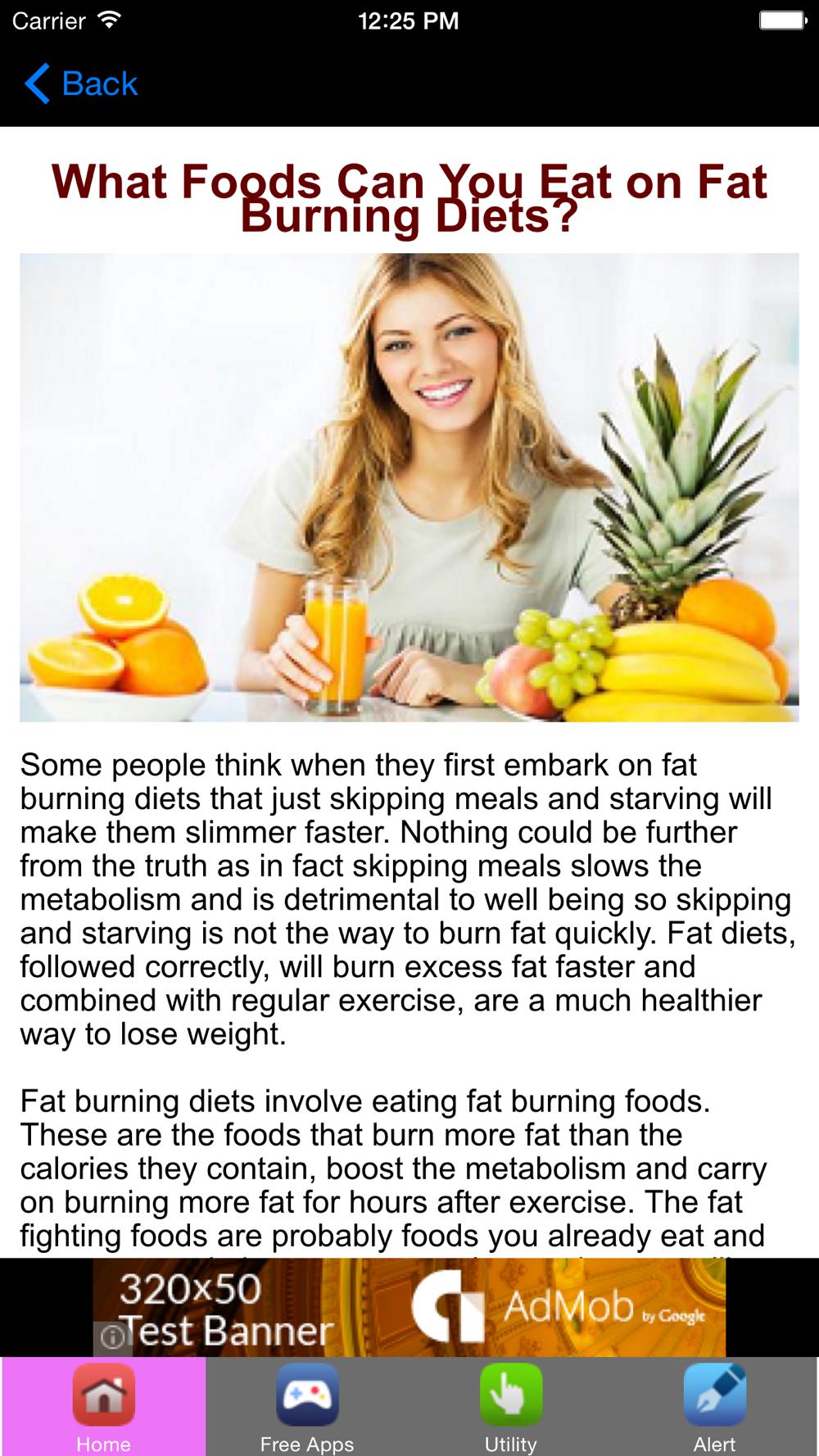 Fat Burning Food PDF