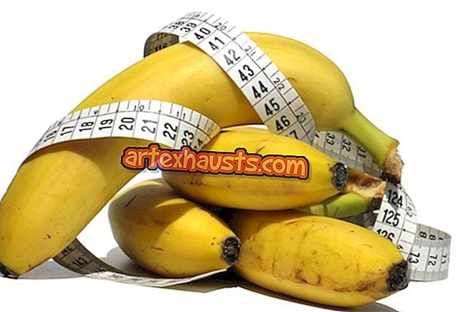 Kaalulangus banaanidega