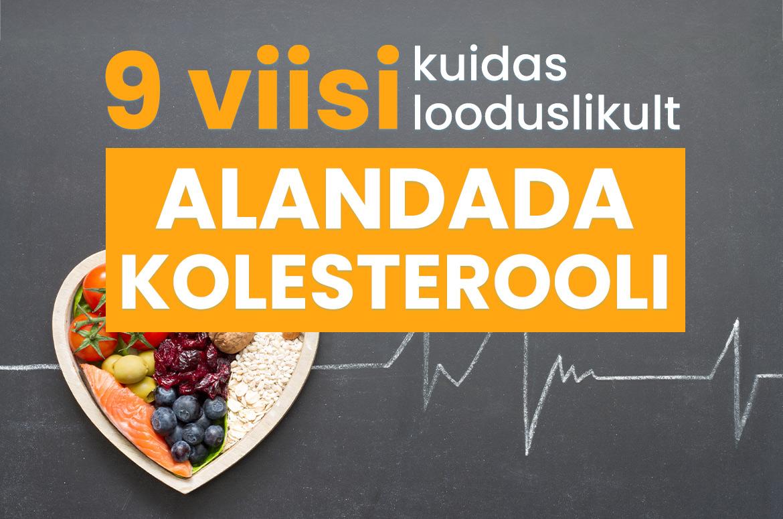 Korge kolesterooli rasva kadu Kaalulangus SPA PA