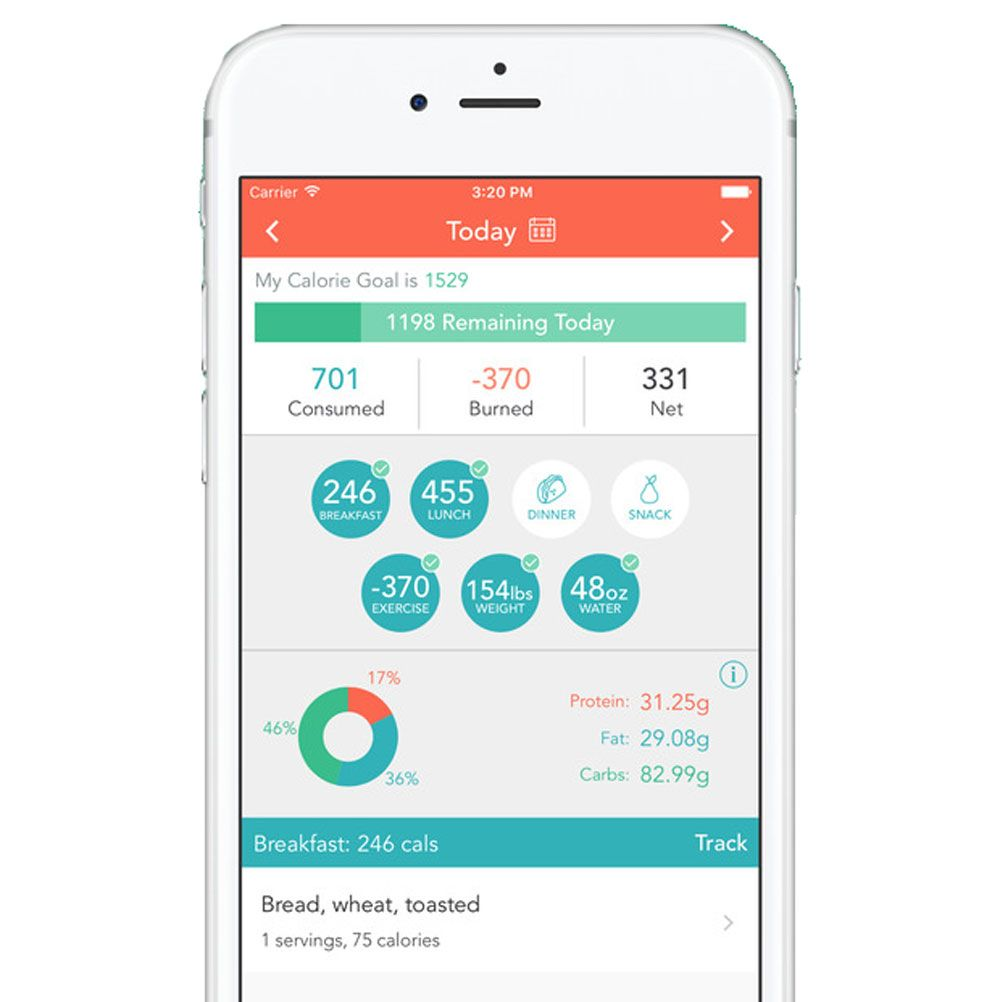 Online Food Tracker Kaalulangus Slim alla ilma taitmata