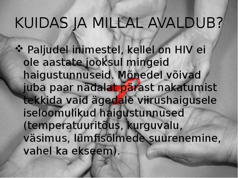 Kuidas varsti kaalulangus esineb HIV-is
