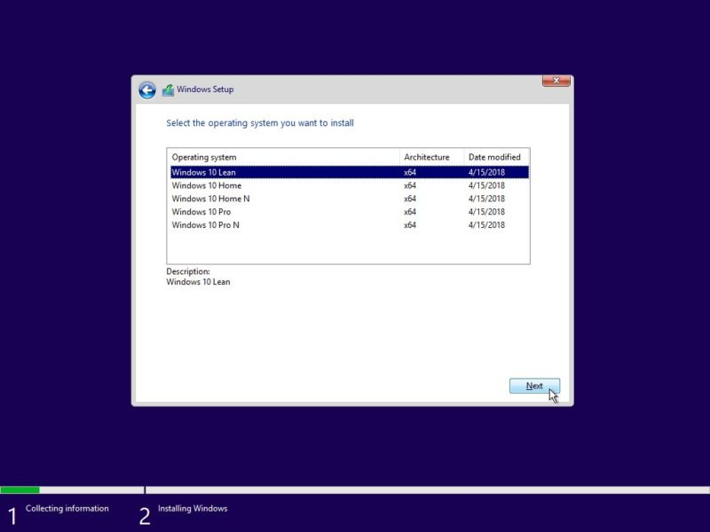 Slim alla Windows 10